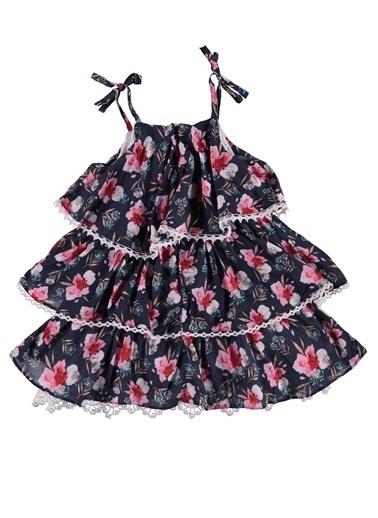 Panço Elbise Lacivert